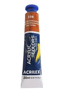 Tinta Acrilica Acrilex 20ml 336 - Terra de Siena Natural