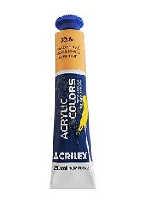 Tinta Acrilica Acrilex 20ml 326 Amarelo Pele