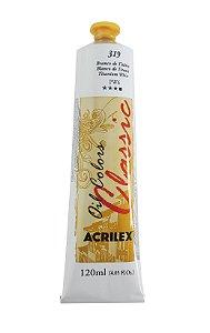 Tinta Oleo Acrilex 120 ml 319 Branco Titâneo
