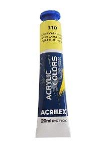 Tinta Acrilica Acrilex 20ml 310 Carne Claro