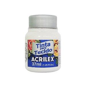 Tinta para Tecido Acrilex 37ml 519 Branco