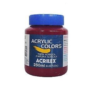 Tinta Acrilica Acrilex 250ml Grupo 3 - 315 Magenta