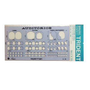 Gabarito Arquitetura Auditorios A-24