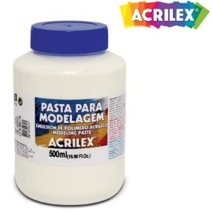 Pasta de Modelagem Acrilex 500ml