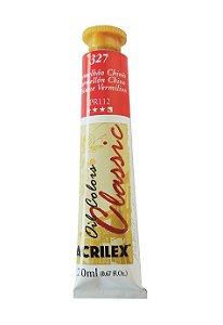 Tinta Oleo Acrilex 20ML 327 - Vermelhão Chinês