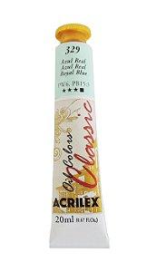 Tinta Oleo Acrilex 20ML 329 - Azul Real