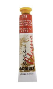 Tinta Oleo Acrilex 20ML 375 - Stil de Grain Pardo