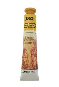 Tinta Oleo Acrilex 20ML 380 - Amarelo Óxido Transparente