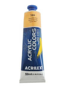 Tinta Acrilica Acrilex 59ml 326-Amarelo Pele