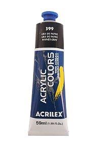 Tinta Acrilica Acrilex 59ml 399 - Gris de Payne