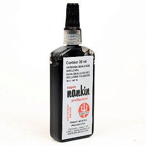 Tinta Nankin Trident 20 ml - Preto