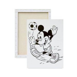 Tela Para Pintura Infantil - Mickey