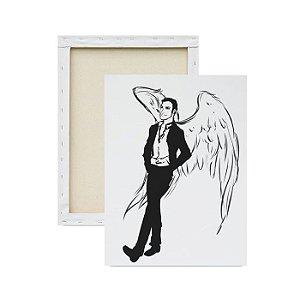 Tela para Pintura Infantil - Lucifer Morningstar