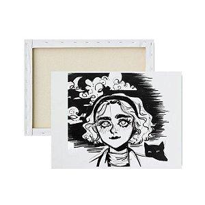 Tela para Pintura Infantil - O Mundo Sombrio de Sabrina