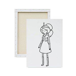 Tela para Pintura Infantil - Princesa Jujuba