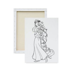 Tela para Pintura Infantil - Princesa Rapunzel do Enrolados