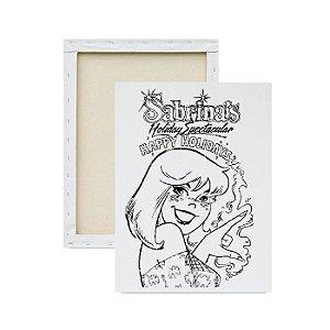 Tela para Pintura Infantil - Sabrina
