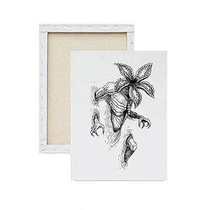 Tela para Pintura Infantil - Stranger Things Demogorgon