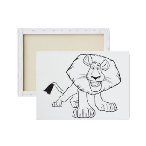 Tela para Pintura Infantil - Alex