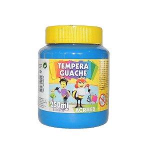 Tinta Tempera Guache Acrilex 250 ml 501 - Azul Turquesa
