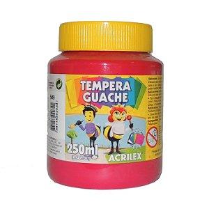 Tinta Tempera Guache Acrilex 250 ml 549 - Magenta