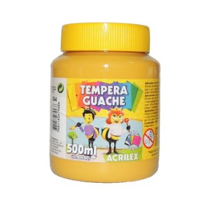 Tinta Tempera Guache 500 ml 564 - Amarelo Ocre