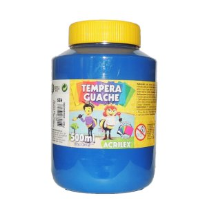 Tinta Tempera Guache Acrilex 500 ml 559 - Azul