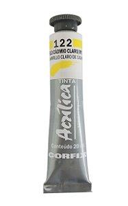 Tinta Acrilica Corfix 20ml 122 - Amarelo de Cadmio Claro