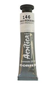 Tinta Acrilica Metalica Corfix 20ml 146 Branco Iridescente