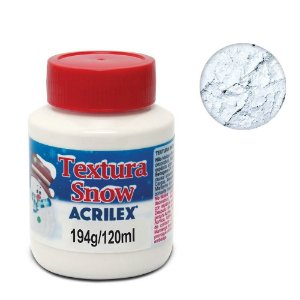 Textura Criativa Snow 120 ml - Nevasca