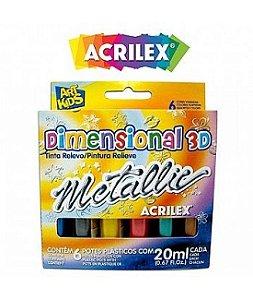 Dimensional 3D - Metallic (06 cores)