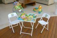 Mesa com 02 cadeiras infantil Branco