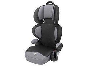Cadeira Tutti Baby Triton Preta/Cinza  6300 15-36KG