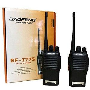 Rádio Comunicador Baofeng BF 777-s