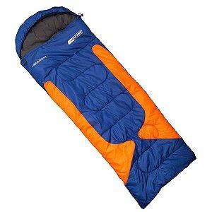 Saco de dormir misto NTK Freedom  -1,5°C à -3,5°C Azul