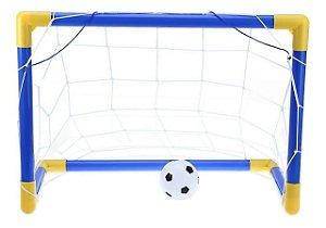 Kit Futebol Infantil Trave Gol de Craque