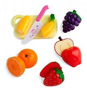 Mini Feirinha Multikids Frutas C/Velcro