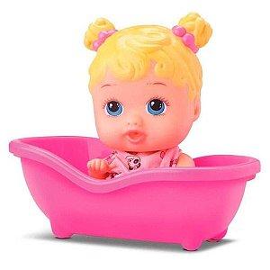 Boneca Bebê Little Dolls Banheirinha - 8022