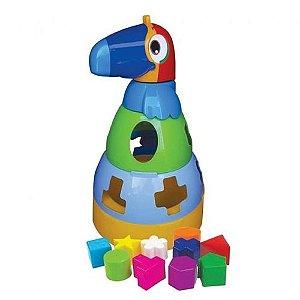 Baby Educativo Tucano Didatico Com blocos MercoToys 296