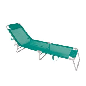 Cadeira Espreguiçadeira Mor Alumínio Turquesa