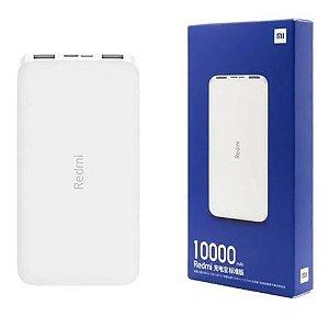 Carregador Portátil Xiaomi Redmi 10000mah Power Bank Turbo
