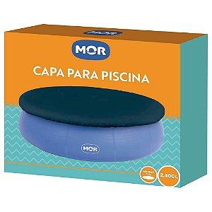 Capa Piscina Splash Mor 2400L Azul