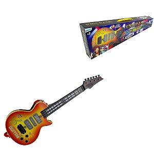 Guitarra Etitoys com Alça e Som BQ-125