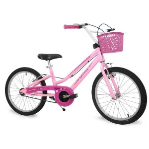 Bicicleta Nathor Bella 02 Rosa Aro 20