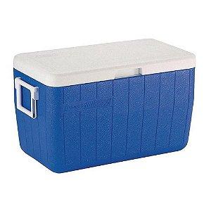 Caixa Térmica Coleman 48 QT - 45,6 Litros Azul
