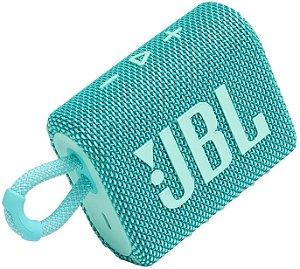 Caixa de Som Bluetooh JBL GO 3 Teal