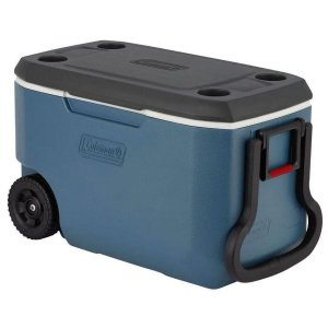 Caixa Térmica Coleman 62Qt Xtreme com Rodas - Azul