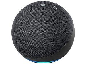 Echo Dot Amazon Alexa Preta