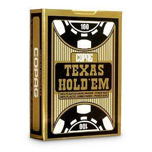 Baralho Copag Texas Gold unidade