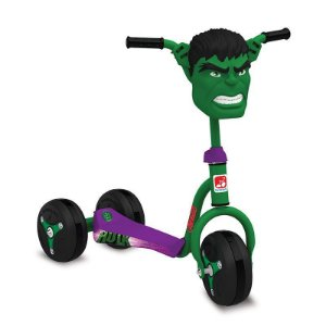 Patinete Hulk Bandeirante